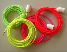 Electrical Cords from Berlin-based Kolor