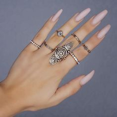 Cleopatra Ring Set from Hint of Sunshine - ShopHintOfSunshine.com