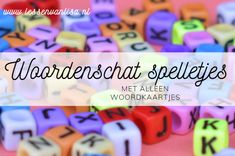 Lessen van Lisa - Woordenschat Education Humor, Primary Education, Educational Leadership, Educational Technology, Mobile Learning, Fun Learning, High School Counseling, Busy Boxes, Learning Quotes