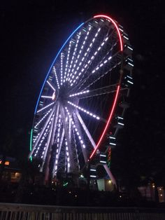 Myrtle Beach, SC Want to ride this at night(: maybe second time will be better?(: