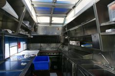 "Food Truck Kitchen Design | At around 9:30 a.m., the 25-year-old truck, ""Ruby"", rolls off the lot ..."