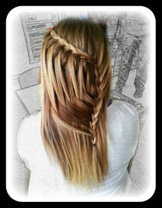 The braid so looks hard but actually really easy