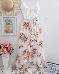 Cute fashion outfits ideas – Fashion, Home decorating Cute Dresses, Casual Dresses, Casual Outfits, Prom Dresses, Summer Dresses, Skirt Outfits, Dress Skirt, Dress Up, Super Moda