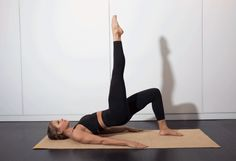 7. Bridge With Leg Lift #pilates #workout #fitness http://greatist.com/move/pilates-best-exercises-to-do-without-reformer