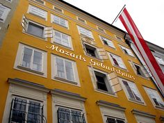 home of Mozart, in Strasburg, Austria