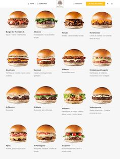 Hamburgeria Nacional Home Burger, Burger Co, Burger Menu, Gourmet Burgers, Burger Recipes, Meat Recipes, Cooking Recipes, Pub Food, Food Menu
