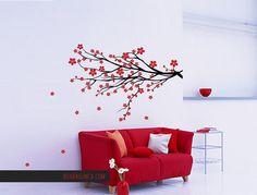 Adesivo de Parede Cerejeira - Boa Bagunça