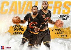 LeBron and Kyrie - Game 7 Performances of the 2016 NBA FINALS