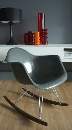 Eames Shell Rocker -- these icons sure do maintain their classic modern style. Timeless.