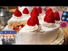 Receta: Pastel tres leches | Cocineros Mexicanos - YouTube