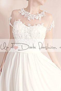 Plus Size unique  Wedding   floral lace by UpToDateFashion on Etsy