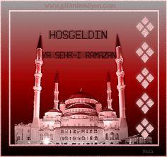 Ramazan Gif'leri indir - Bilgi Deryası Ramadan Mubarak, Beautiful World, Taj Mahal, Building, Allah, Om, Buildings, God, Allah Islam