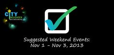 Suggested Metro Vancouver Weekend Events: Nov 1 - Nov 3, 2013