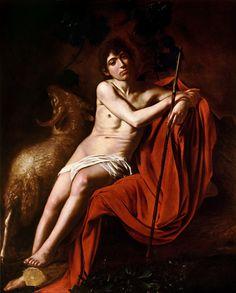 Caravaggio Poster - John The Baptist