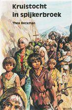 Kruistocht in spijkerbroek  Thea Beckman kwam bij ons op school voorlezen.