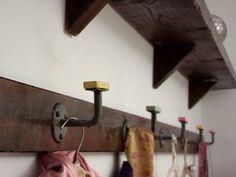 Fill your house for free Kirstie Allsop Channel 4 Handrail brackets coat hooks