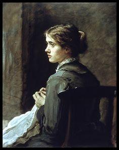 Stitch! Stitch! Stitch! (1876)  John Everett Millais