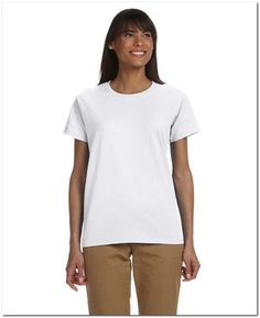 Gildan G200L Ladies Ultra Cotton T Shirt