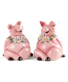 Take a look at this Piggy Salt & Pepper Shakers today!