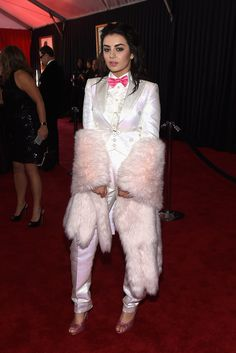 Charli XCX, in Moschino. The 2015 Grammy Awards - Gallery - Style.com