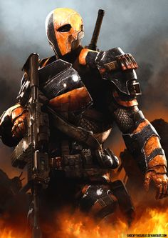 Deathstroke - Slade Wilson by ShockyTheGreat Oh Yeah! He's coming back this season!