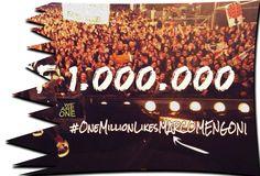 Marco Mengoni: Festeggiamo TUTTI INSIEME il primo MILIONE - LET'S CELEBRATED THE FIRST MILLION TOGETHER!