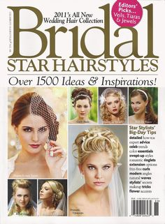 Bridal Star Hairstyles Magazine Featuring Some Of Mandy Liento S