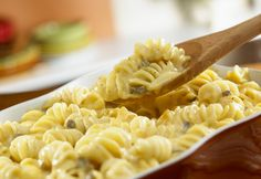 Campbell's Kitchen: 3-Cheese Pasta Bake-with broccoli cheese soup instead of cream of mushroom?