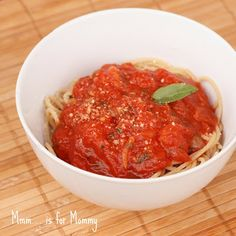 Marinara Sauce with a touch of Honey