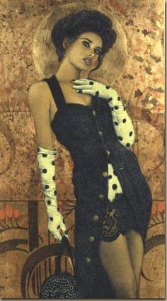 Yorkie, Mona Lisa, Pin Up, Beautiful Women, Artwork, Artist, Coloring, Dresses, Fashion
