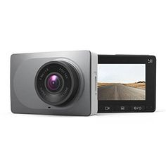 """awesome YI 2.7"""" Screen Full HD 1080P60 165 Wide Angle Dashboard Camera, Car DVR Vehicle Dash Cam with G-Sensor, WDR, Loop Recording, Grey"""