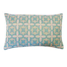 Jiti Motif Aqua Geometric 12x20 Pillow