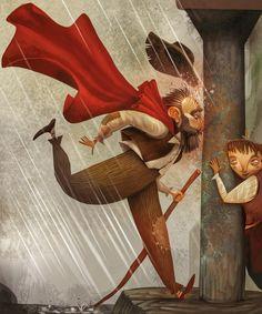 Jesús Aguado se atreve con 'El Lazarillo de Tormes', adaptado por Vicente Muñoz Puelles, en la colección 'El árbol de los clásicos' de Óxford University Press.