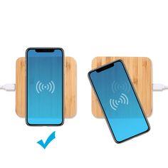 Cargue sus dispositivos móviles sin conectar un cable con este pad cargador wireless ECO. Simplemente apoye su teléfono móvil en el cargador inalámbrico ecológico para su carga.  Finalmente espere como resultado que aparezca la notificación de carga.  Los teléfonos más antiguos se pueden cargar agregando un parche de carga inalámbrica a su dispositivo.  Es mas el pad cargador ECO esta echo de bambú. Duradero o madera natural. Roppongi, Usb Flash Drive, Cable, Inductive Charging, Natural Wood, Charger, Cabo, Electrical Cable, Usb Drive