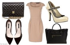 Beige dresses. Best looks for your special occasions