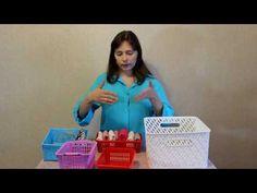 Как складывать вещи по КонМари / Вертикальное хранение / Как сложить вещи на полке (Мария Трагарюк) - YouTube