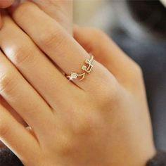 Cheap Rhinestone Music Notes Threaded Fashion Opening Adjustable Ring For Big Sale!Rhinestone Music Notes Threaded Fashion Opening Adjustable Ring is a perfect gift for her.