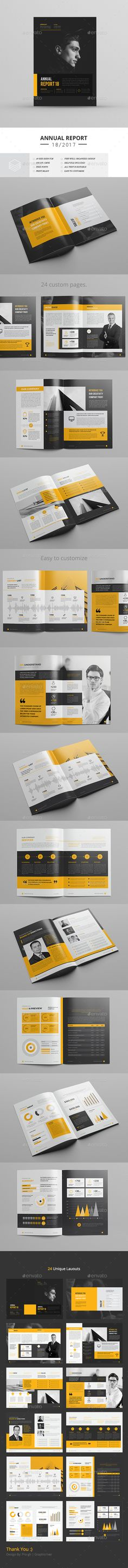 Annual Report — InDesign INDD #informational #minimal • Download ➝ https://graphicriver.net/item/annual-report/20040033?ref=pxcr