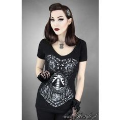 RS - Skeleton Corset T-shirt