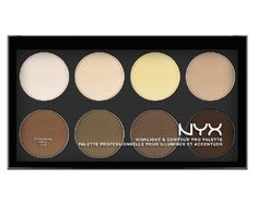 Get selfie ready like the pros with NYX Highlight and Contour Pro Palette.