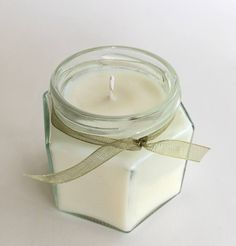Citronella candle Bug off natural candle 4 oz bug off