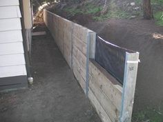 wood retaining walls | ... Wall , Pine Sleeper Wall , Retaining Wall , West Coast Retaining Wall