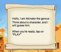akinator daily challenge answers