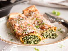 Heiß aus dem Ofen: Vegetarische Spinat-Enchiladas