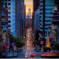 California St, San Francisco by ilove_sanfrancisco by San Francisco Feelings