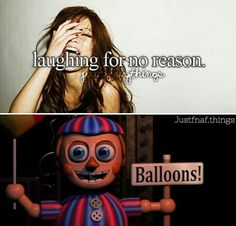 Balloon Boy, laughing because he is the cause of your death...
