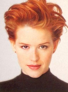Molly Ringwald - Icon of 80s teen films.