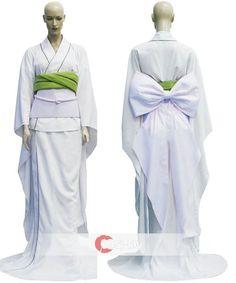 Rukia Kuchiki's Zanpakuto Sode no Shirayuki Cosplay Costume...not only do I want this...I NEED THIS
