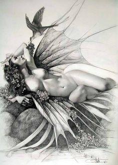 Simply matchless renee klehm erotic art