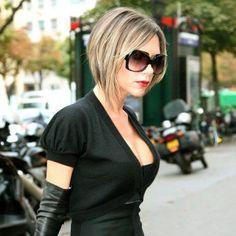 2006 : Le carré boule méché de Victoria Beckham